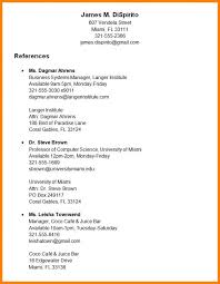 How To Make A Reference Page For Resume