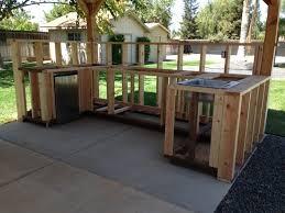 Construction Outdoor Kitchen