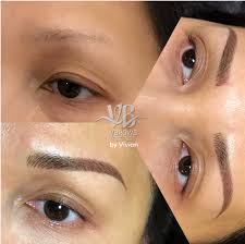 microblading is a permanent eyebrow technique wherein a hand tool is used for creating light wispy hair strokes permanent make up helps you look beautiful
