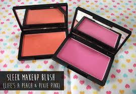 review sleek makeup blush pixie pink life s a peach