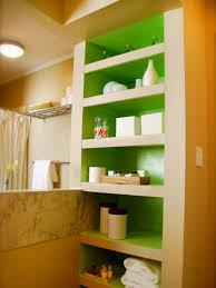diy built in famous bathroom diy closet and shelves