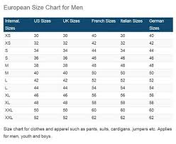 German To Us Size Chart Size Guide Rulesfitness