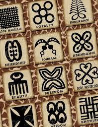 Adinkra Symbols Of West Africa Printable African Symbols
