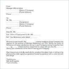 Letter Of Verification Of Employment Sample Proof Employment Letter Verification Of Service By Email