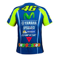 yamaha jersey. rossi 2017 yamaha sponsor t-shirtalternative image1 jersey