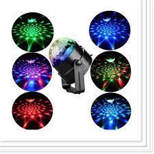 Freeship Đèn led xoay 7 màu cảm ứng theo nhạc cực đẹp-đèn sân khấu -đèn vũ  trường ,giá rẻ giá cạnh tranh