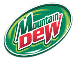 Mountain Dew Logo Label transparent PNG - StickPNG