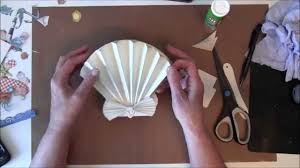 How to make a 3D Sea Shell Easel card with G45 By The Sea Paper ...