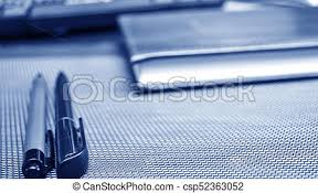 Cool stationery items home Cyanics Multifunction Stationery Items Lying On The Desktop Place To Work At Home Of Csp52363052 Can Stock Photo Stationery Items Lying On The Desktop Place To Work At Home Of