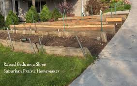 now you build a raised bed i know it sounds really scary but actually it s not there are lots of how to s including this one
