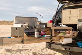 Camping Kitchen This Camping Kitchen Fits In The Back Of Your Truck Curbed