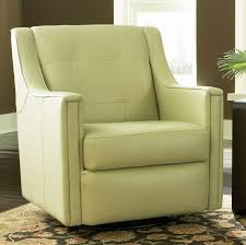 Bradington Young Leather Swivel Tub Chairs