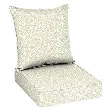 2 piece chair cushion set tonal leaf