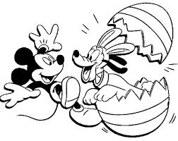 Disegni Di Pasqua Dei Personaggi Disney Da Colorare