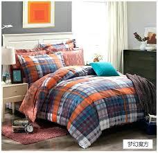 orange and blue bedding sets orange and blue bedding sets dreaming blue grey black orange plaids orange and blue bedding