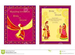 indian wedding invitation card stock vector image 48581700 Indian Wedding Card Free Vector card illustration indian invitation vector wedding indian wedding card design vector free download