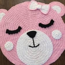 crochet bear rug pattern