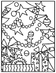 Small Picture Christmas Gifts Under the Tree Coloring Page crayolacom