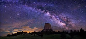 milky way galaxy from earth hd. Plain From Milky Way Galaxy Devils Tower For From Earth Hd