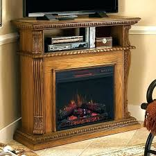 quartz infrared electric fireplace heater xtremepowerus infrared quartz electric fireplace heater oak finish with remote controller