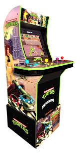 <b>Teenage Mutant Ninja Turtles</b> Arcade Machine w/ Riser, Arcade1UP ...