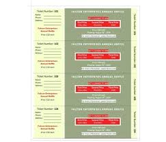 Create Tickets In Word How To Make Tickets For An Event Free Create Numbered