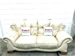 cream colored leather sofa yellow feturing s lether ides cream colored leather sofa
