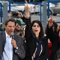 Brasil: Candidato del PT pisa fuerte en segundo lugar
