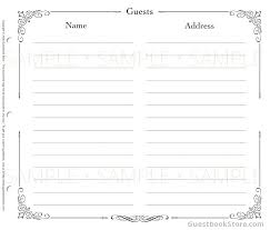 Funeral Guest Book Template Funeral Guest Book Eggboi Co