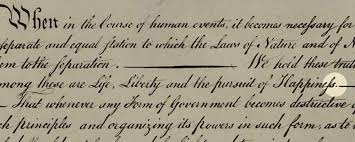 Declaration Of Independence Quotes Mesmerizing Punctuating Happiness Jefferson's Declaration And The Truth Of Our