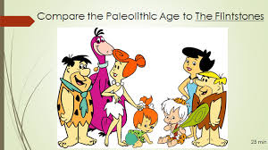 Neolithic And Paleolithic Venn Diagram Compare Contrast Paleolithic To Ice Age To Flintstones
