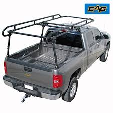 Amazon.com: EAG Contractor Pickup Truck Ladder Lumber Rack Loads up ...