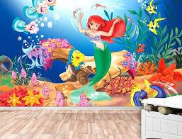 little mermaid wall decor little mermaid wall mural wallpaper wall wall little mermaid wall mural mermaid little mermaid wall decor