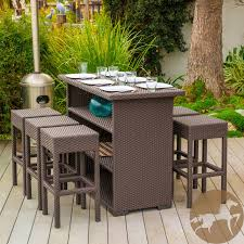 brown set patio source outdoor. 28 [wicker Patio Bar Set] Coral Springs 5 Pc Wicker Ideas Of Brown Set Source Outdoor