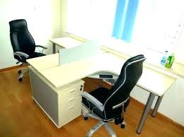 office desk for two. Office Desk For Two 2 Person Full Image Persons Table Corner Lamps Walmart