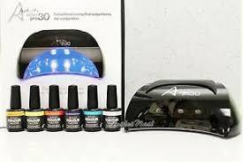 Details About Artistic Colour Gloss Pro30 Led Pro 30 Light Lamp Set Of 6 Colors Gel Lot Kit