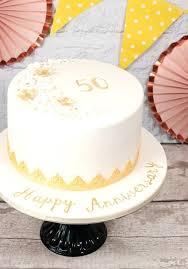 50 Wedding Anniversary Cake Itlc2018com