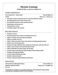 Cashier Resume Beauteous Cashier Resume [How To Write 28 Examples]