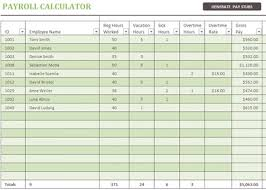 payroll-calculator-template