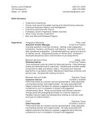 Sales Associate Job Duties For Resume Best Retail Sales Associate ...