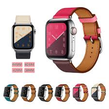 genuine leather strap for apple watch band 42mm 38mm leather bracelet for iwatch strap band series 1 2 malaysia