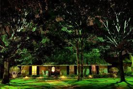 landscape lighting design houston