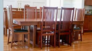 mission style dining chair how to build part 2 arts and crafts style woodworking