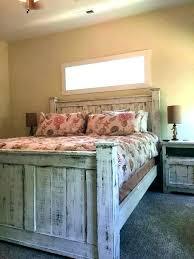 White Distressed Bedroom Furniture Sets Distressed Wood Bedroom Set ...