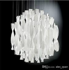 hybrid type stair large chandelier modern glass pendant light pendant lamps whole on