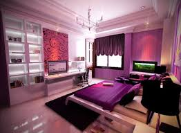 Modern Purple Bedroom Bedroom Pretty Purple Bedroom Interior Design Light Purple