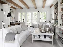Rustic Decorating For Living Rooms Smart Chic Rustic Living Room In White Rustic Decorating Ideas For