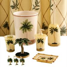 better homes and gardens bathroom accessories words toothbrush holder complete set sets target palm tree