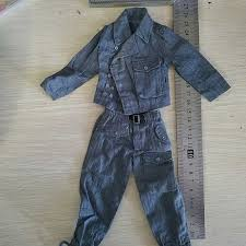 <b>1/6 WWII German Army</b> Wehrmacht Uniform Clothes Pants Coat with ...