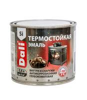 «<b>Эмаль термостойкая</b> матовая <b>DALI</b> серебро 0,4л ...